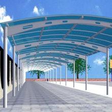 Prefab Light Steel Car Parking Structure (WZG60)