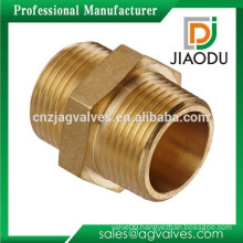 "Pipe Fittings 1""npt or 2""npt or 1 1/2""npt Brass Tube Fitting Hex Nipple"
