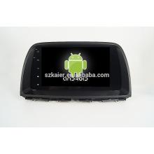 Quad core! Voiture dvd avec lien miroir / DVR / TPMS / OBD2 pour 9 pouces écran tactile complet quad core 4.4 Android système MAZDA CX-5 2015