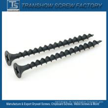 3,5 * 51mm Schwarz Phosphatierte Grobgewinde Trockenbau Schraube