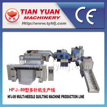 High Production Automatic Continuous Quilt Making Machine