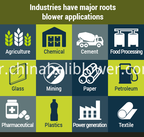 Roots Blower Applications Industry Industrial Process