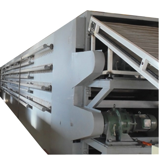 Manufacturers sell low-priced multi-layer belt dryers for beef jerky pet snacks fungus drying