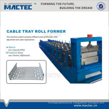 High quality cable tray roll forming machine,cable tray production line