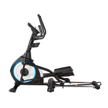 Trainer Depan Drive Cahaya Komersial Black Magnetic Elliptical