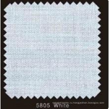 Белый цвет Сплетенный двойной точка флизелин (5805 белый)