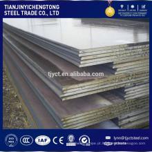 Fornecedores grosseiros do aço de corten da placa de aço de 10mm