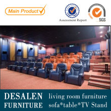 Best Quality Theater Genuine Leather Sofa (A169)