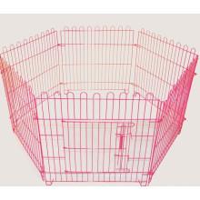 Pet Dog Playpen Puppy Cage 8 Panel Metal Fence Run Garden Frame Black