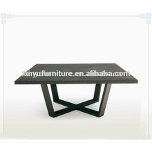 Nogal color soild mesa de centro de madera C1040
