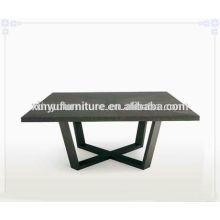 Walnut color soild wooden coffee table C1040