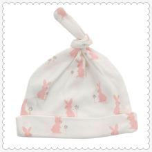 Chapéu de nó de algodão orgânico recém-nascido unisex-bebê