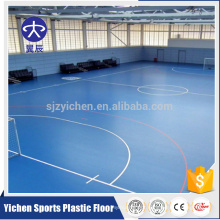 PVC sports court flooring, non-slip sport futsal court vinyl flooring roll