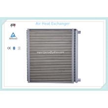 Intercambiador de calor del aire del tubo de acero de carbón de la aleta de aluminio del agua caliente