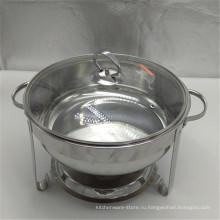 8л большой двойной плита шведский стол мармит из нержавеющей стали современная жаровня