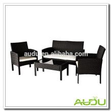 Audu 4 Piece SImple Rattan Garden Загородная мебель