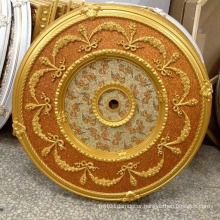 Round PS Artistic Ceiling Medallion Decoration Material Dl-1169-3