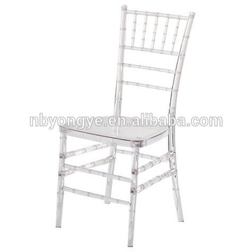 Diferentes colores Acrylic sillas de boda Chiavari