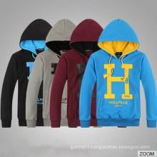 100%Cotton Men′s Mix Color Fleece Hoodies/Men Hoody
