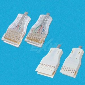 110 4PR Ivory Connector