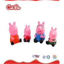 Juguetes de vinilo de cerdo encantadora