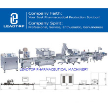Cápsula automática e tabuleta eficientes altas que contam a linha de produção