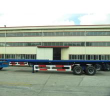 40 'Two Axle Flatbed with Boggie Suspension Semi-Trailer