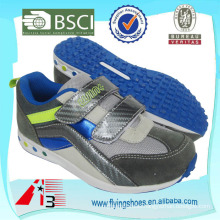 high heel sports VELCRO shoes for kid with high quality sole