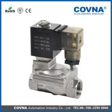 Serie de acero inoxidable COVNA Válvula solenoide accionada por 2/2 vías