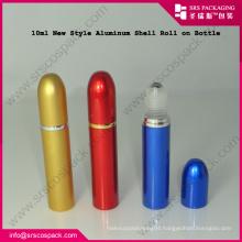 10ml New Elegant Aluminum Shell Mini Roller Bottle