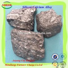 Inoculante do cálcio do silicone / SiCa para a liga de ferro de aço