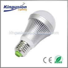 AC100-240V CE Rohs 3 cores mudando luz de bulbo conduzida