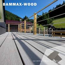 Durable Deep Embossing Balcony Composite Co-Extrusion Flooring Board