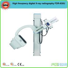 Equipamento de radiografia digital de raio-X de alta freqüência de U-braço FDR-200u com CE