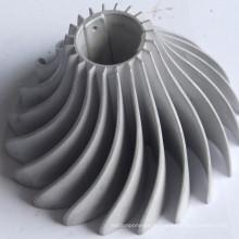 Ребристый радиатор для светодиодного освещения