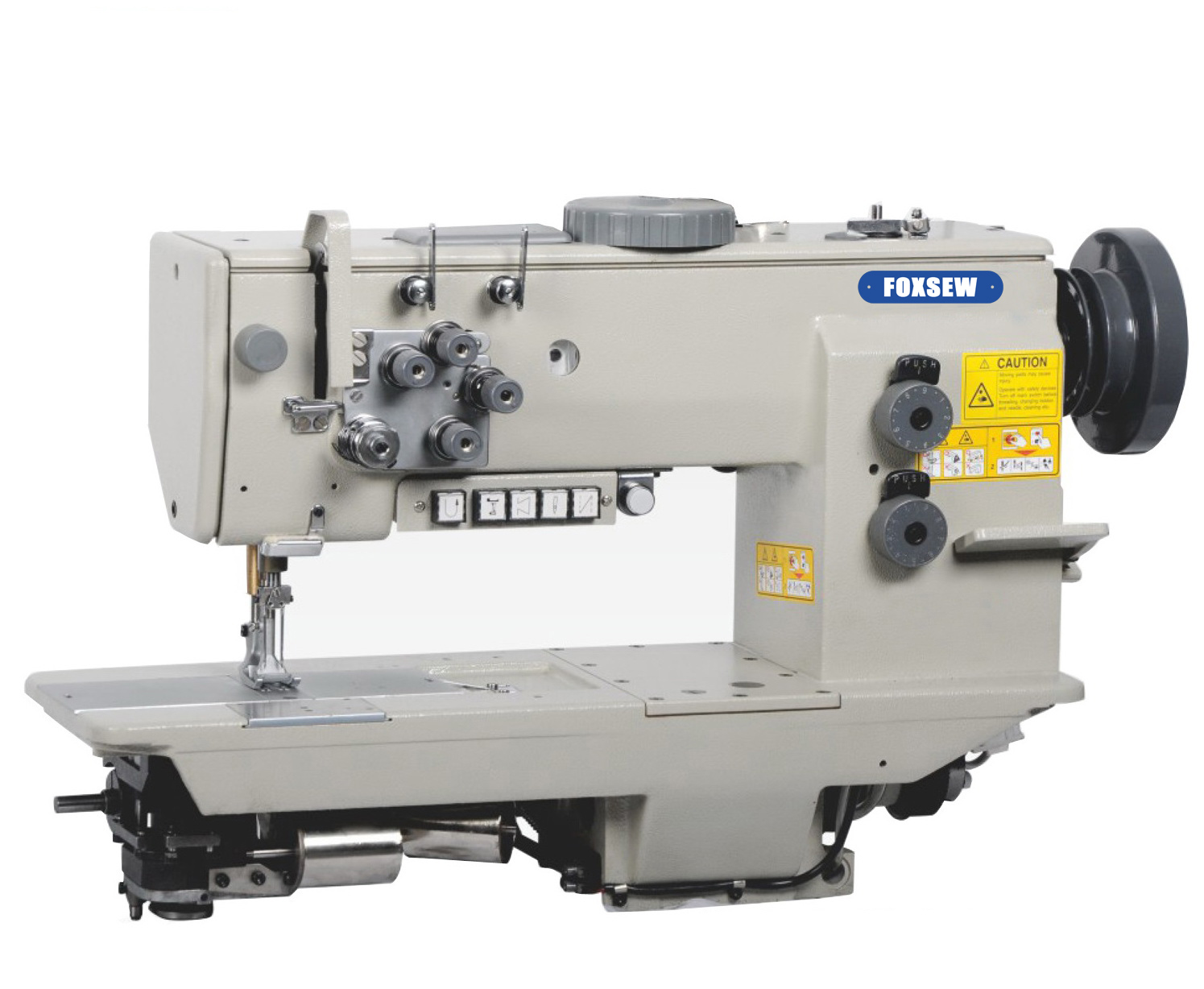 KD-7678 Double Needle Heavy Duty Compound Feed Lockstitch Sewing Machine