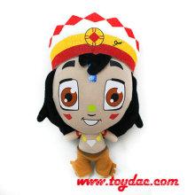 Африка 2014 Фаршированные Печатных Кукла