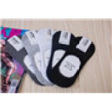 Basic estilo de verano de malla de calcetines de corte baja Invisible Cotton Liner Summer Socks