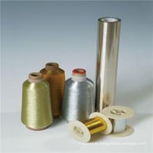 Starke Zugfestigkeit Transparente Metallic-Garn-Grundfolie