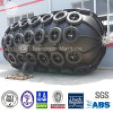 D=2000mm EL=3000mm Yokohama Floating Pneumatic Fenders/ Sling Type and Tire Net
