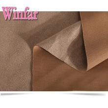 Polyester Spandex Stretch Air Layer Scuba Suede Tissu