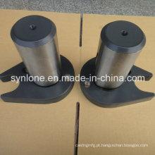 Usinagem CNC e peças de soldagem Shaft com orelha