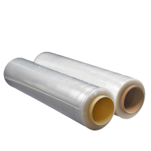Factory Price Transparent Manual Stretch Wrapper LLDPE Plastic Roll Film for packaging