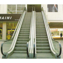 Automatic indoor/outdoor escalator