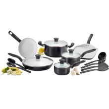 Amazon Vendor cerâmica antiaderente forno seguro Cookware Set 16-Piece