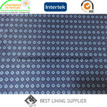 100% Polyester 260t Twill Print Fabric for Men′s Suit Jacket Lining
