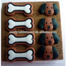 Cartoon dog soft board pins