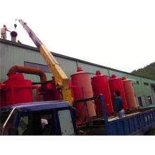 Ahorro de energía municipal de residuos sólidos Máquina de carbonización Horno Hecho en China