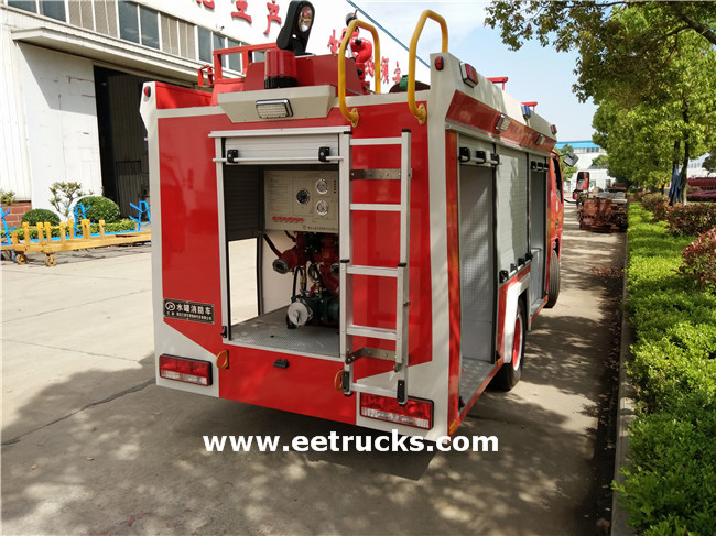 Water Tanker Fire Truck