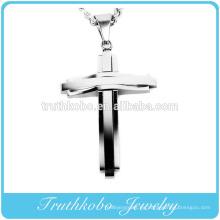 2016 Fashion Cross Jewelry 316l acero inoxidable único para hombre occidental cruz colgantes en venta